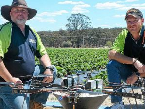 Hexacopter New Way to Target Farm Pests