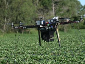 UAV first for dispersal of predators